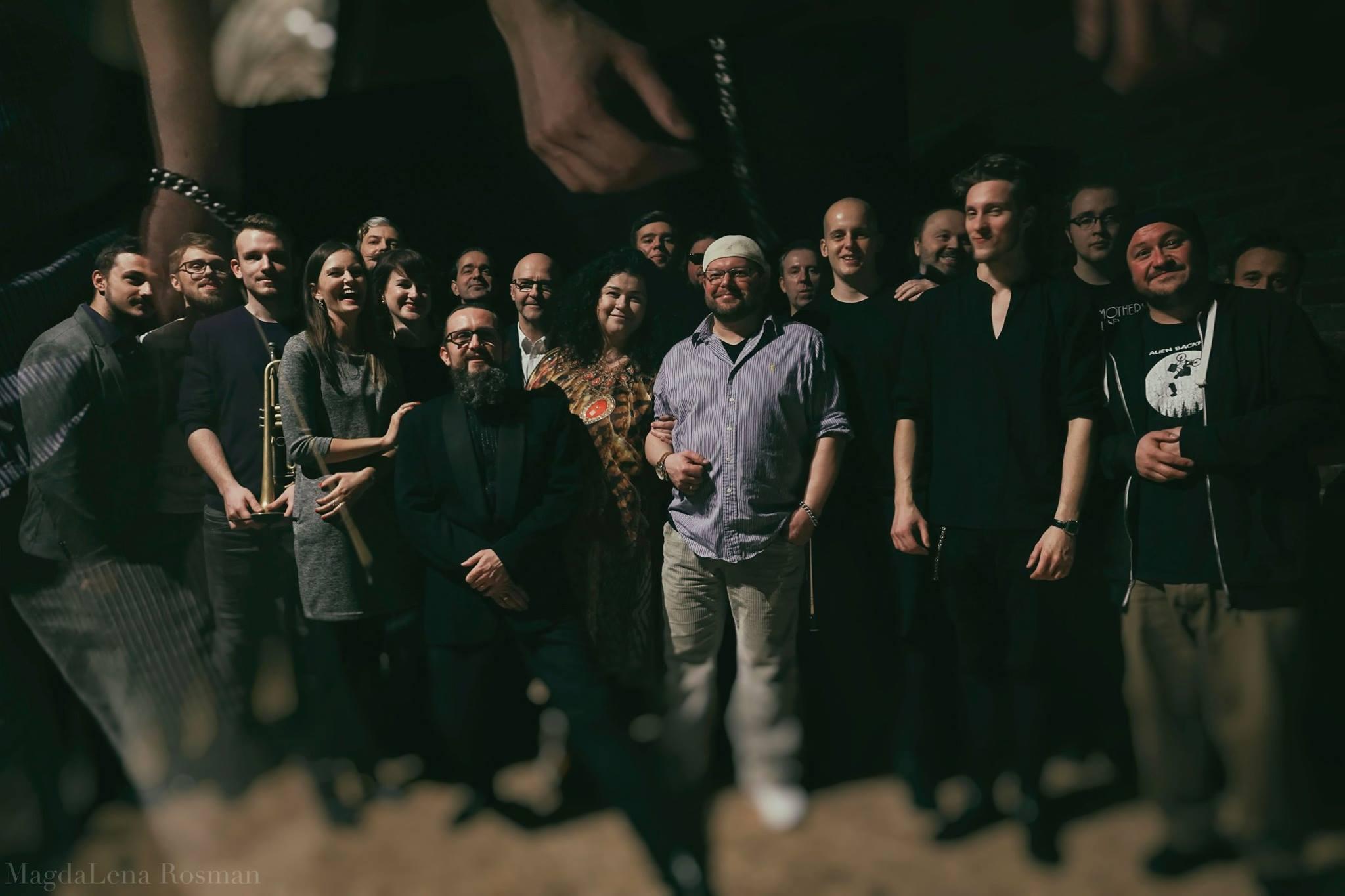 Gdynia Improvisers Orchestra foto: Magdalena Rosman
