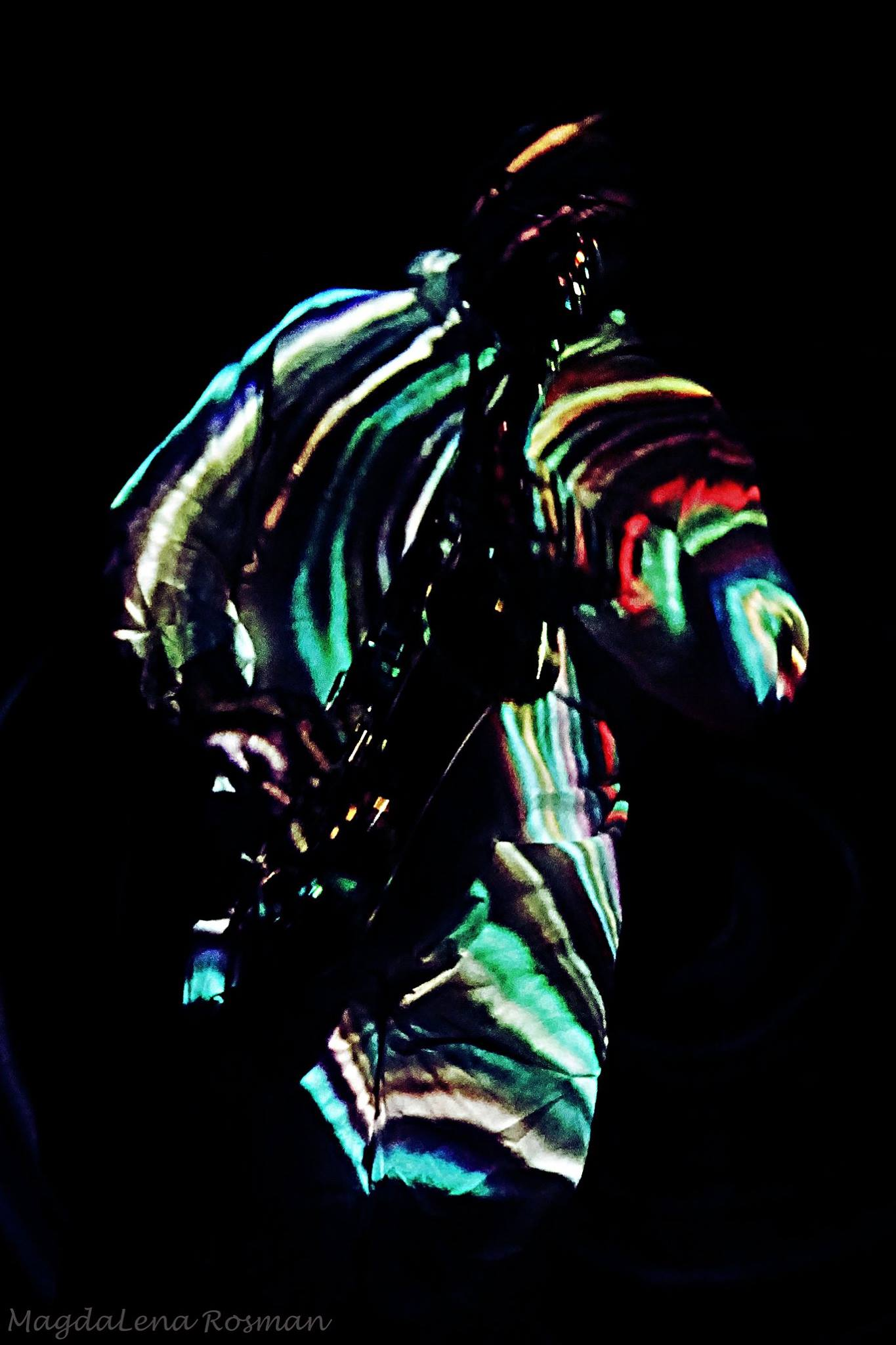 Olbrzym i kurdupel foto: Magdalena Rosman
