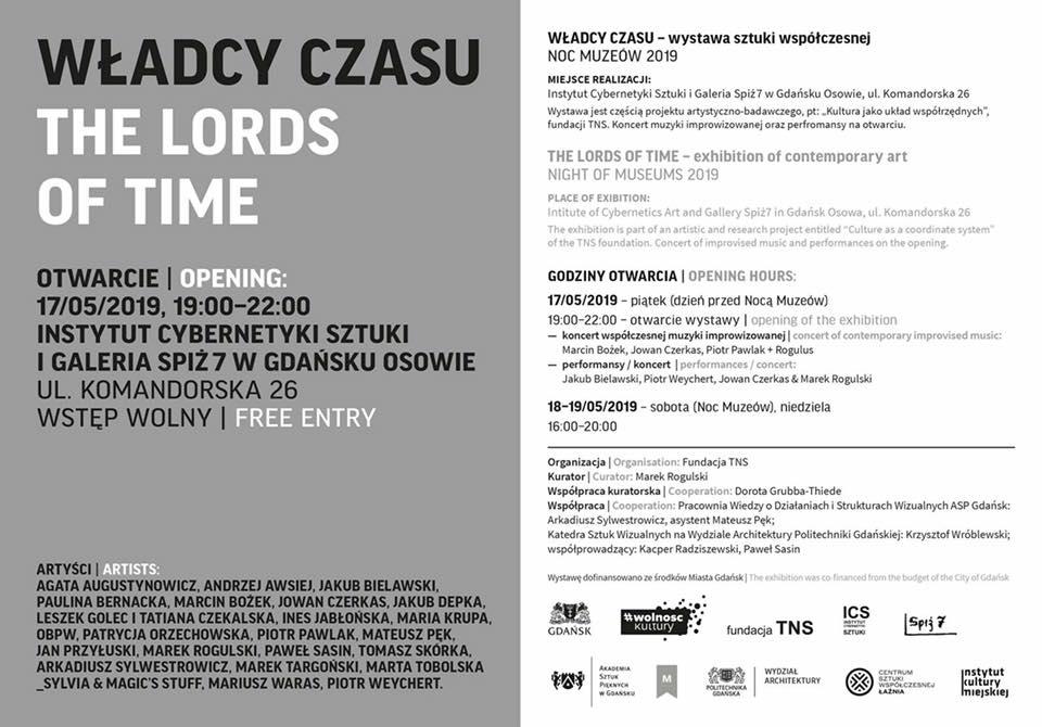 Władcy Czasu_ wystawa w ICS 17 maja 2019 Gdańsk