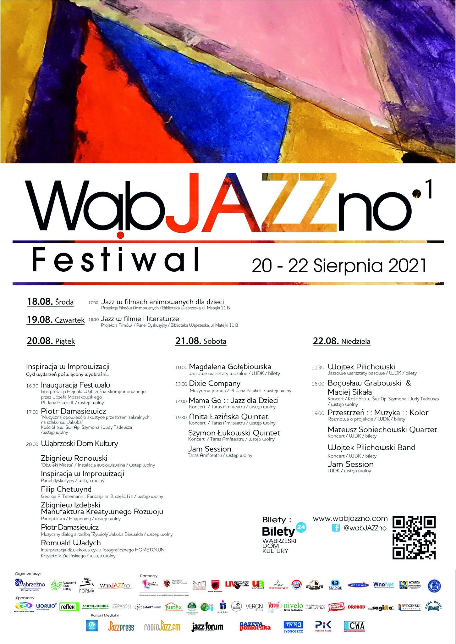 Jazz dla Dzieci WąbJAZZno Festival 21.08.2021
