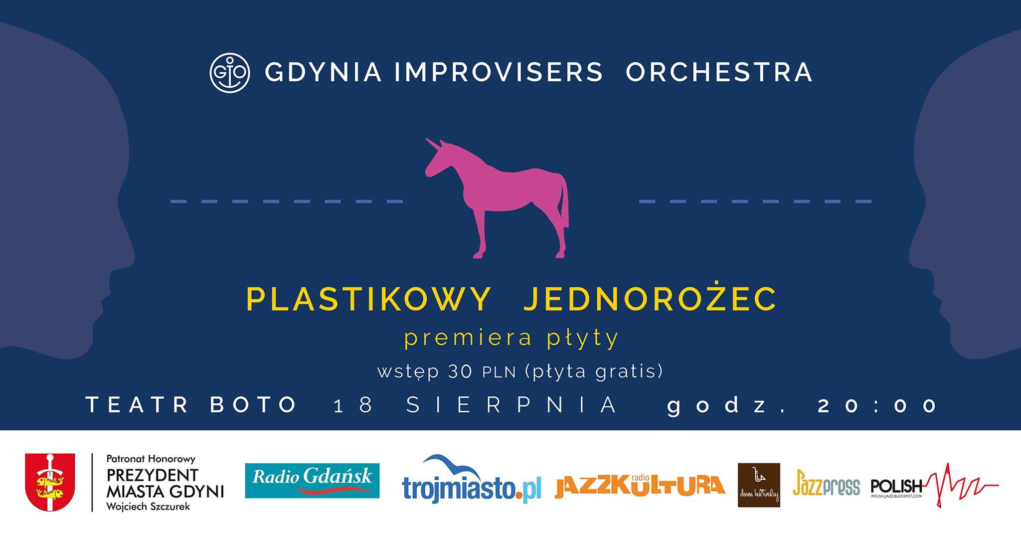 """Gdynia Improvisers Orchestra premiera płyty """"Plastikowy Jednorożec"""""""